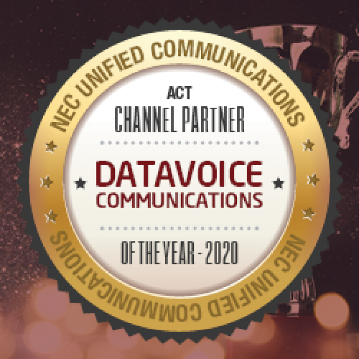 Datavoice – NEC Channel Partner of the Year – ACT – 2020